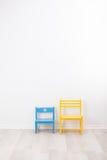 2 винтажных стуль ребенка Стоковые Фото