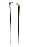 2 винтажных тросточки Стоковое Изображение RF