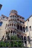 Винтовая лестница в Венеции Стоковые Фотографии RF