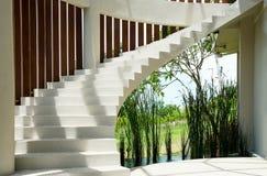 Винтовая лестница в улице Стоковое Изображение RF