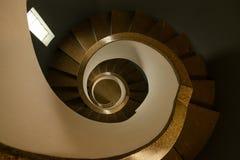 Винтовая лестница маяка Стоковая Фотография RF