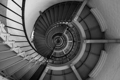 винтовая лестница маяка стоковые изображения