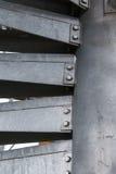 Винтовая лестница металла современная Стоковое Изображение RF