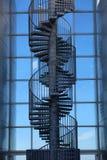 Винтовая лестница на Perlan, жемчуге, Reykjavik, Исландии Стоковое Изображение