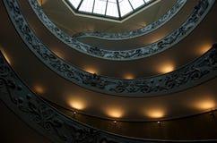 винтовая лестница vatican музея Стоковое фото RF