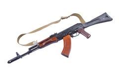 Винтовка автомата Калашниковаа пушки деревянная Стоковые Фото