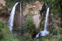 Винтовка падает парк штата, Колорадо Стоковое Изображение