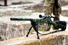 Винтовка снайпера Airsoft Стоковое Фото