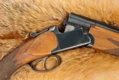винтовка шерсти стоковые изображения