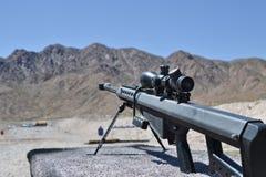 Винтовка Barrett снайпера, 0 50 калибр, m82a1 стоковое изображение