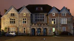 Винтовки Беркшир и музей Уилтшира на ноче стоковая фотография rf