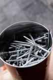 винты ногтей Стоковая Фотография