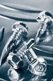 Винты для металла стоковая фотография