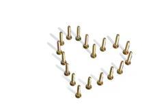 винт сердца Стоковые Фотографии RF