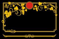 виньетка декора Стоковые Фотографии RF