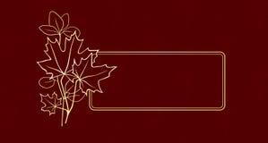 виньетка орнамента Стоковые Фото