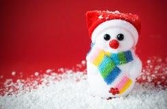виньетка снежка santa влияния красная Стоковая Фотография RF