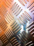 виньетка текстуры листа картины металла предпосылки черная Стоковые Изображения