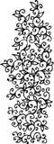 виньетка cxliii флористическая Стоковые Изображения RF