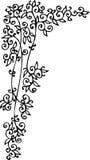 виньетка cxlvi флористическая Стоковые Фото