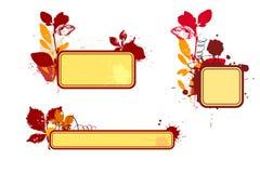 виньетки осени Стоковая Фотография RF