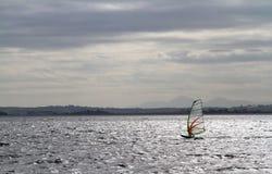 Виндсерфинг на заливе Strangford 1 Стоковая Фотография RF