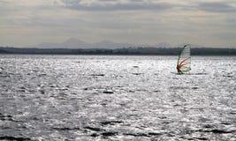 Виндсерфинг на заливе Strangford 2 Стоковая Фотография