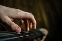 виолончелист Стоковое Изображение