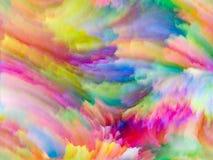Виртуализация цвета фрактали Стоковое Изображение