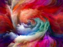 Виртуальная жизнь движения цвета бесплатная иллюстрация