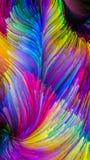 Виртуальная красочная краска стоковая фотография rf