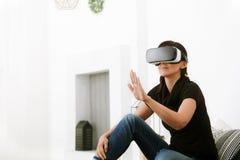 Виртуальная реальность сегодня Стоковые Изображения RF
