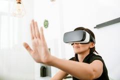 Виртуальная реальность сегодня Стоковое Фото