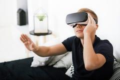 Виртуальная реальность сегодня Стоковое фото RF