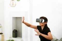 Виртуальная реальность сегодня Стоковое Изображение RF