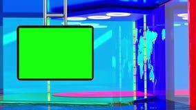 Виртуальная студия ТВ, элементы оригинального дизайна бесплатная иллюстрация
