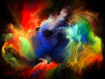 Виртуальное движение цвета бесплатная иллюстрация