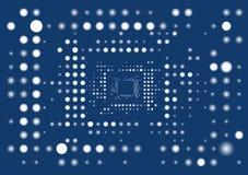 виртуальное пространство предпосылки Стоковые Изображения RF