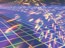 виртуальное пространство Стоковые Изображения