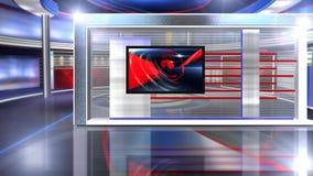 виртуальные новости комплекта длиной сток-видео