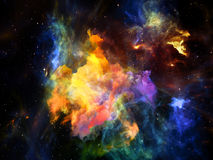 Виртуализация космоса Стоковые Фото