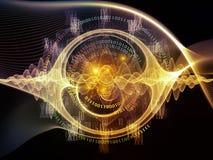 Виртуализация центральной волны Стоковые Изображения