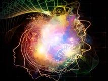 Виртуальная жизнь внутренней геометрии Стоковая Фотография RF