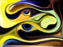 Виртуальная краска Стоковое Изображение