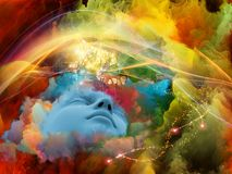 Виртуальная мечта Стоковая Фотография