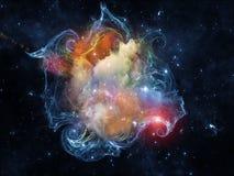 Виртуальное межзвёздное облако Стоковое Фото