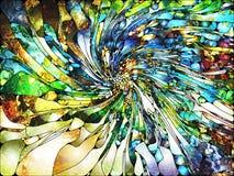 Виртуальное освинцованное стекло Стоковое Изображение