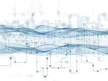 Виртуальные передачи данных Стоковая Фотография RF