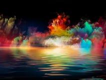 Виртуальные цвета Стоковое Изображение RF