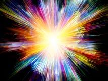 Виртуальные цвета Стоковая Фотография